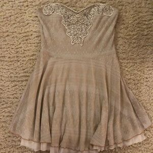 Free People Shimmer Skater Dress